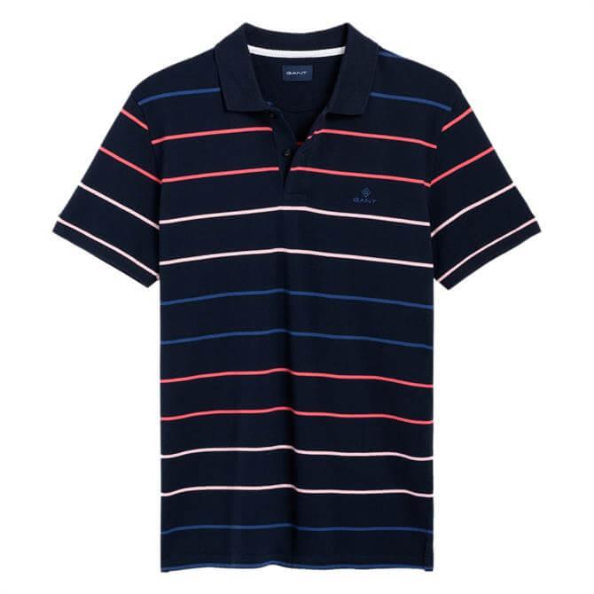 GANT Multi Stripe Pique Rugger Shirt
