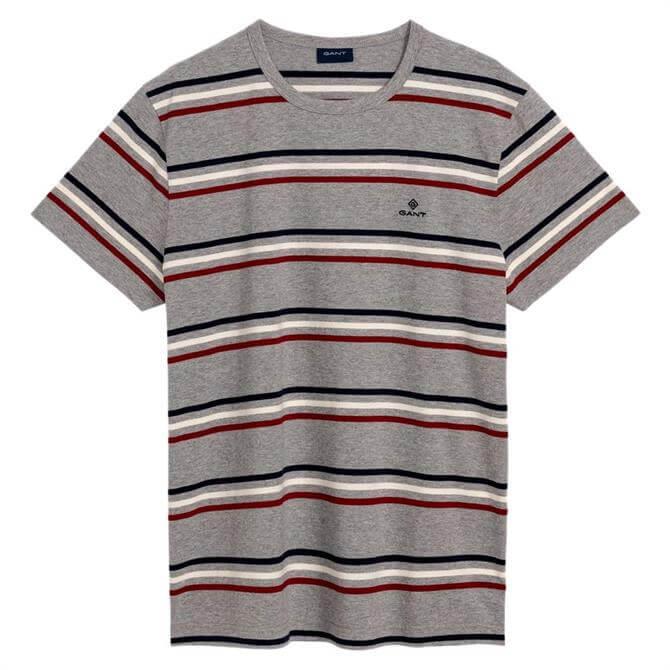GANT Heavy Jersey Striped T-Shirt