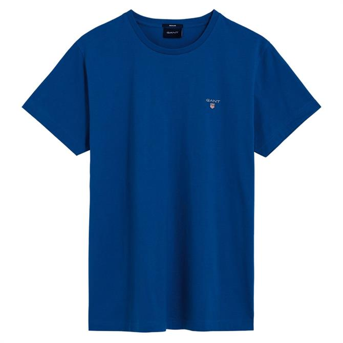 GANT Short-Sleeved Cotton T-Shirt