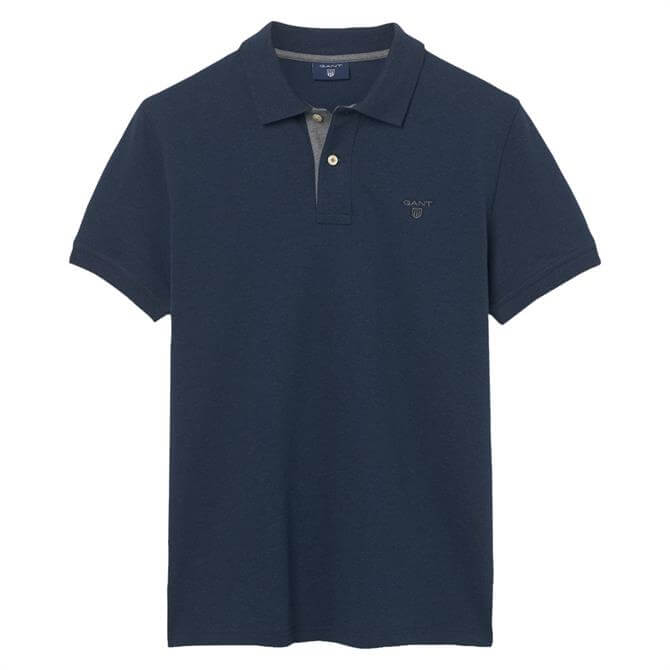 GANT Contrast Collar Classic Polo Shirt