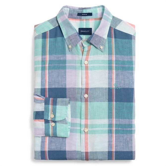 GANT Madras Linen Pastel Shirt