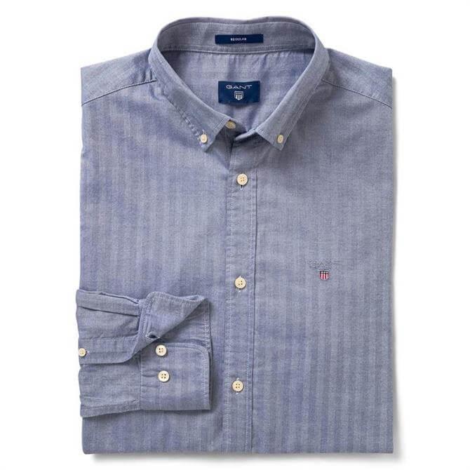 GANT Men's Regular Herringbone Shirt