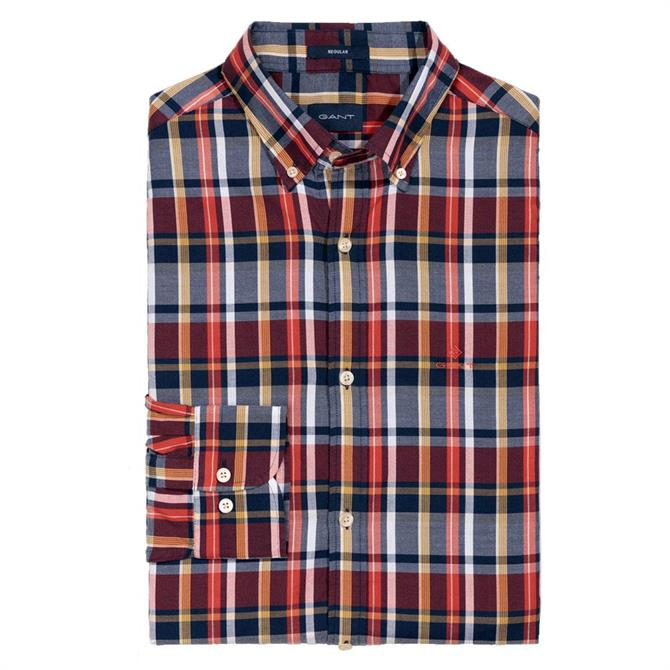 GANT Oxford Plaid Shirt