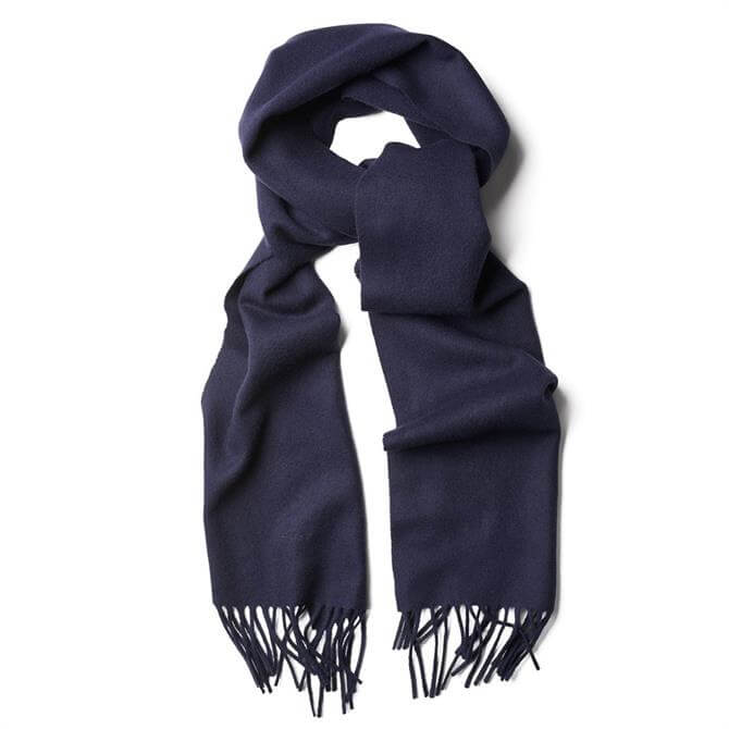 GANT Solid Lambswool Soft Woven Scarf