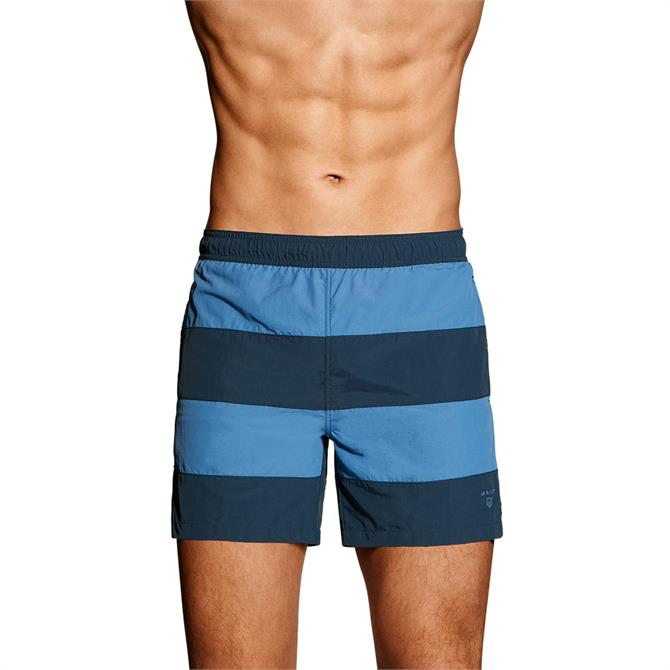 GANT Rugby Stripe Swim Shorts
