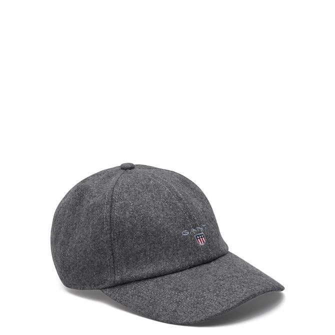 GANT Melton Wool Blend Baseball Cap