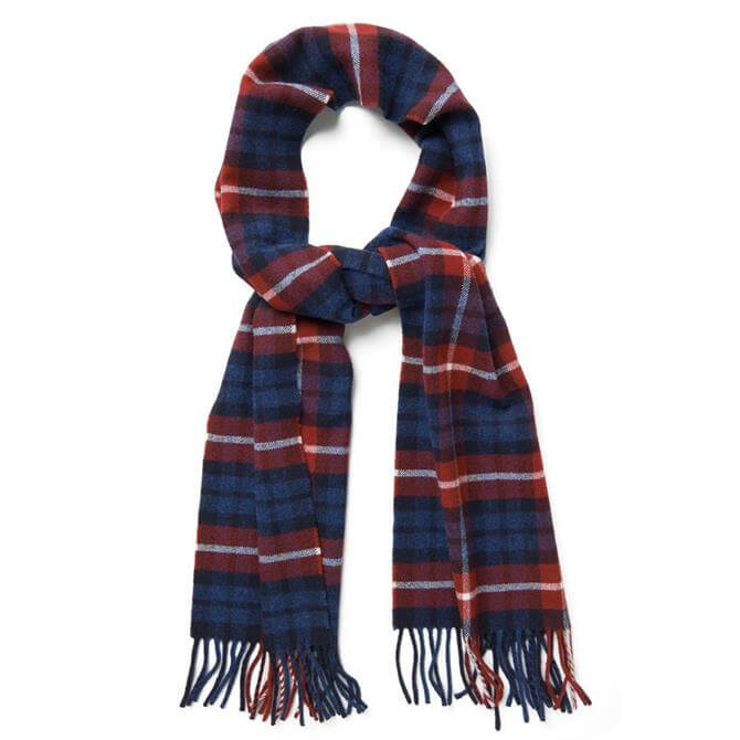 GANT Checked Lambswool Scarf