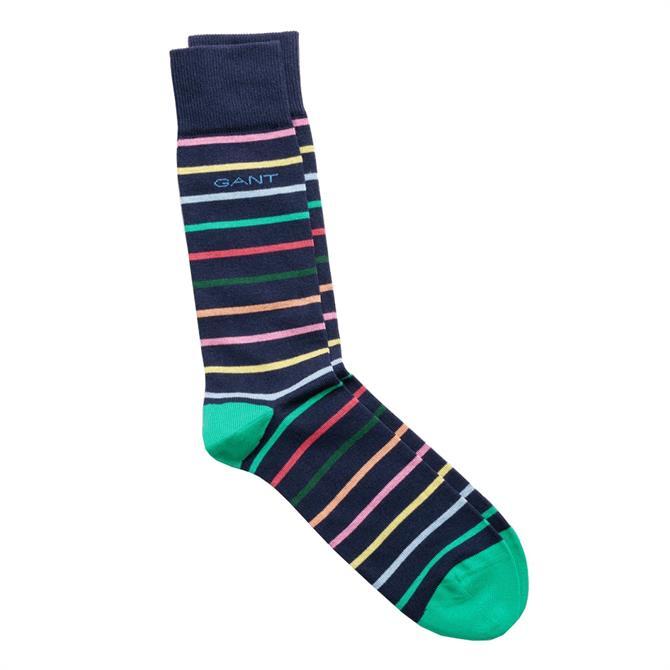 GANT Multistripe Colourful Socks