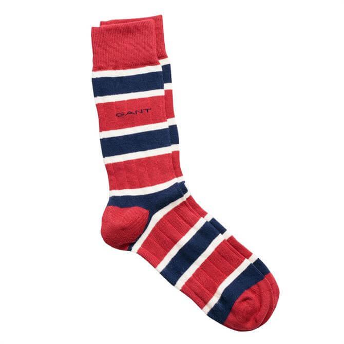 GANT Striped Rib Socks