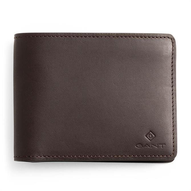 GANT Debossed Logo Classic Leather Wallet