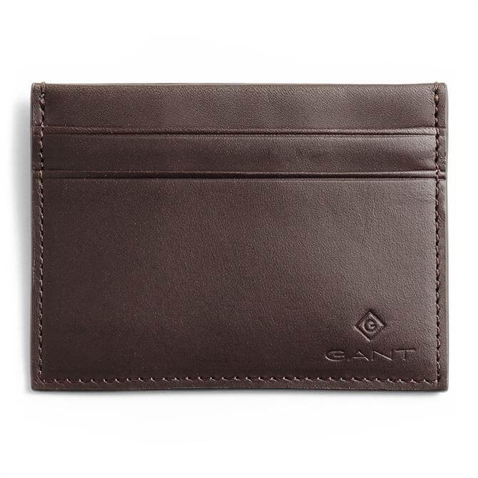 GANT Debossed Logo Leather Cardholder
