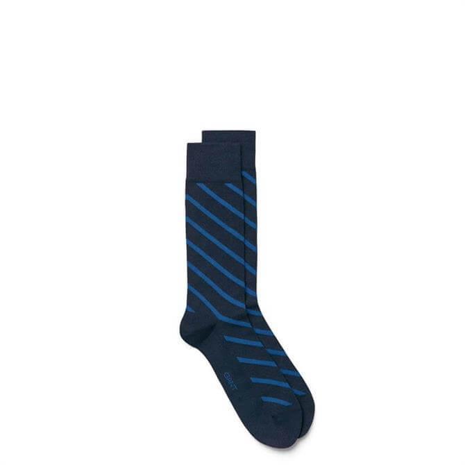GANT Breton Diagonal Stripe Socks AW17