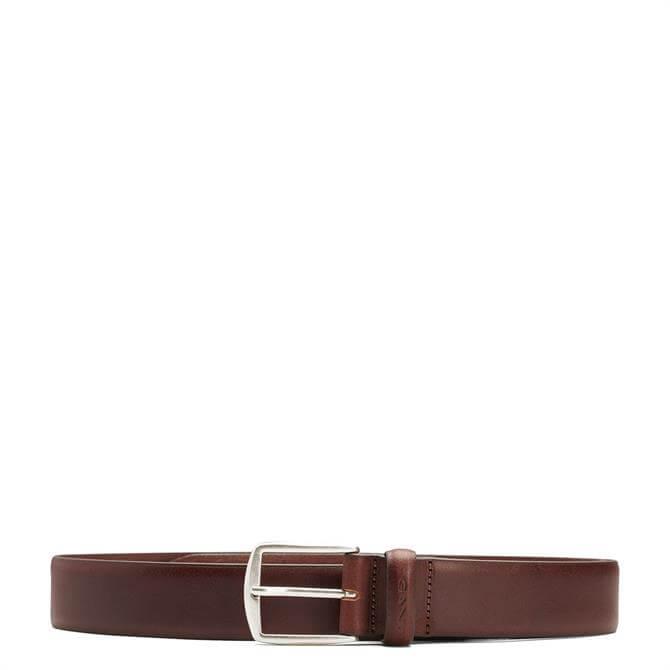 GANT Mens Classic Leather Belt