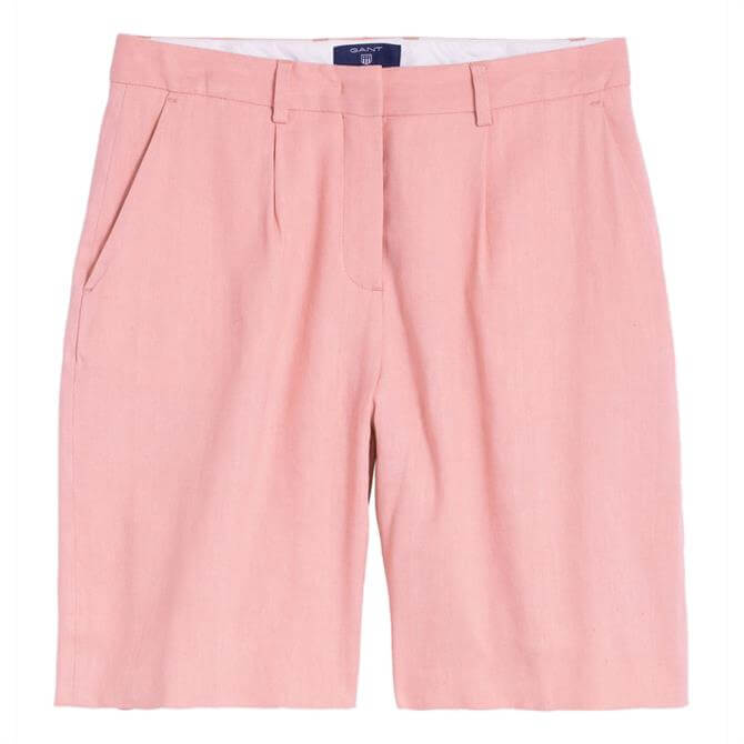 GANT Stretch Linen Pleated Shorts