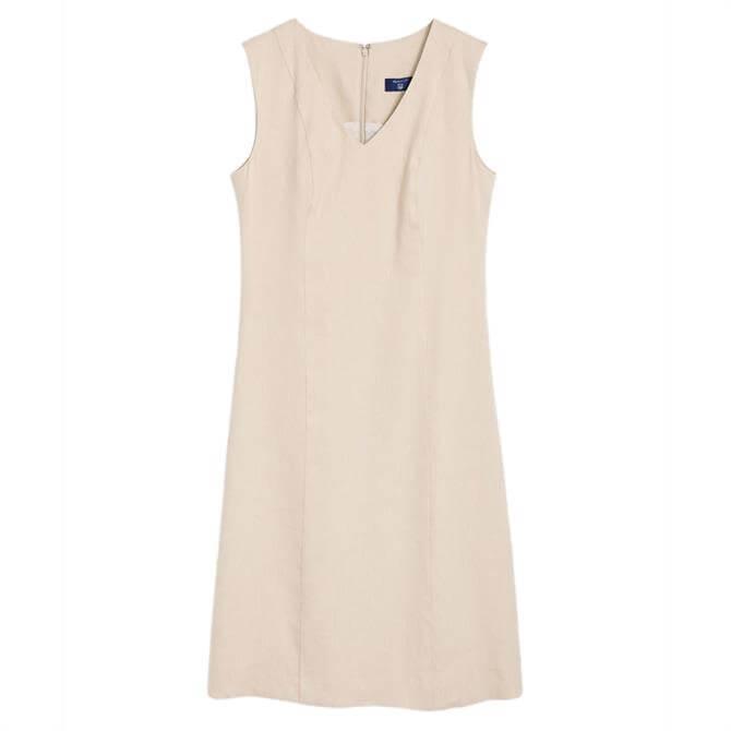 GANT Stretch Linen Dress