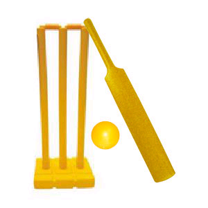 Salamander Cricket Plastic Cricket Set - SIZE 6
