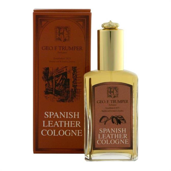 Geo F Trumper Spanish Leather Cologne 50ml Atomiser