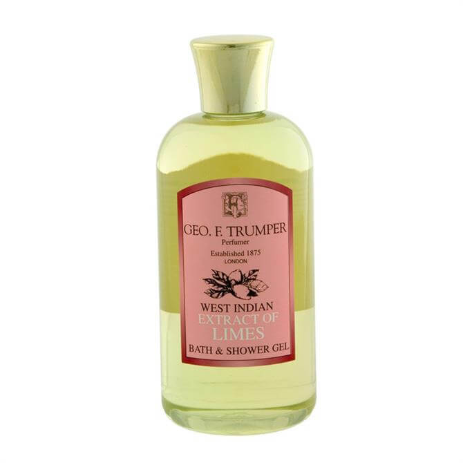 Geo F Trumper Extract of Limes Bath and Shower Gel Travel Bottle 100ml