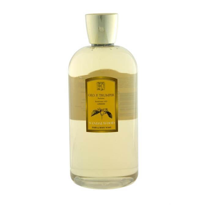 Geo F Trumper Sandalwood Hair and Body Wash 500ml