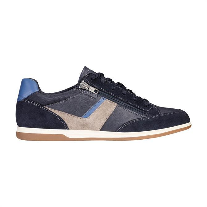 Geox Mens Renan Sneaker - Dark Royal/Navy