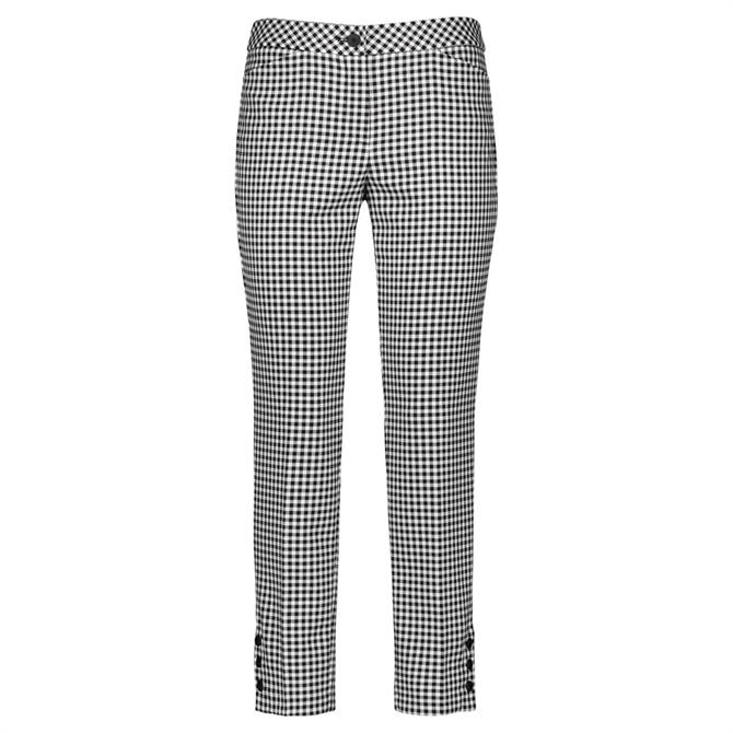 Gerry Weber Gingham Check Trousers