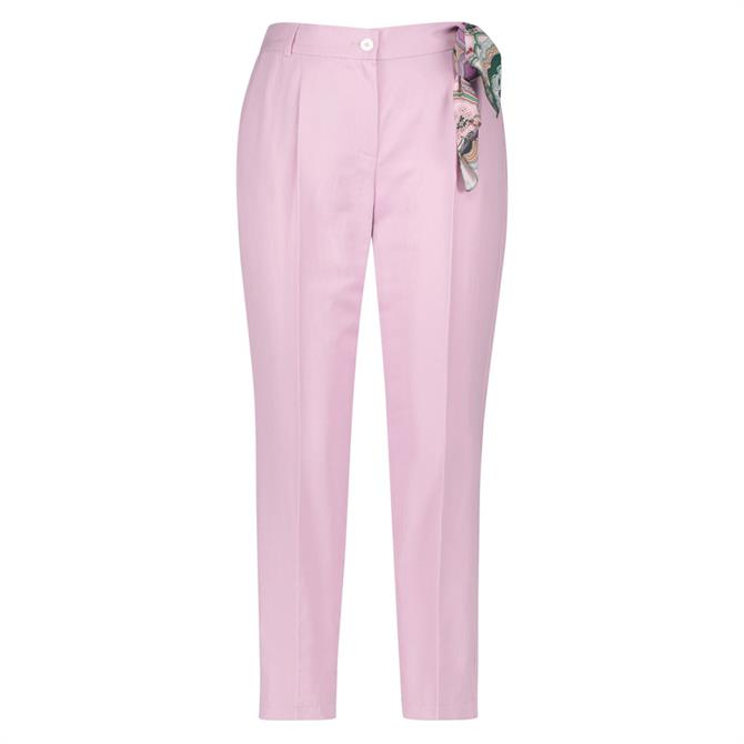 Gerry Weber Tapered Trouser With Paisley Cloth