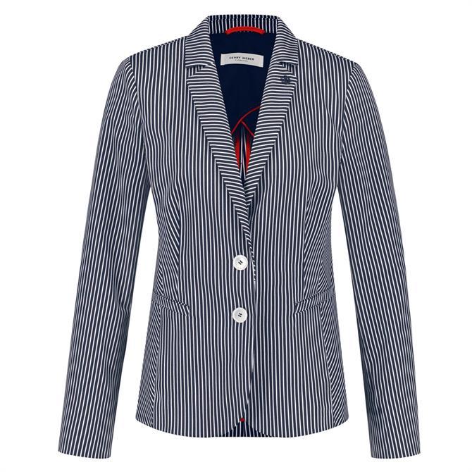 Gerry Weber Nautical Striped Blazer