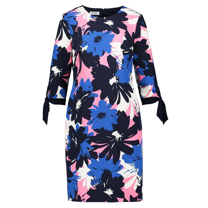 Gerry Weber Floral Print Bow Sleeve Dress