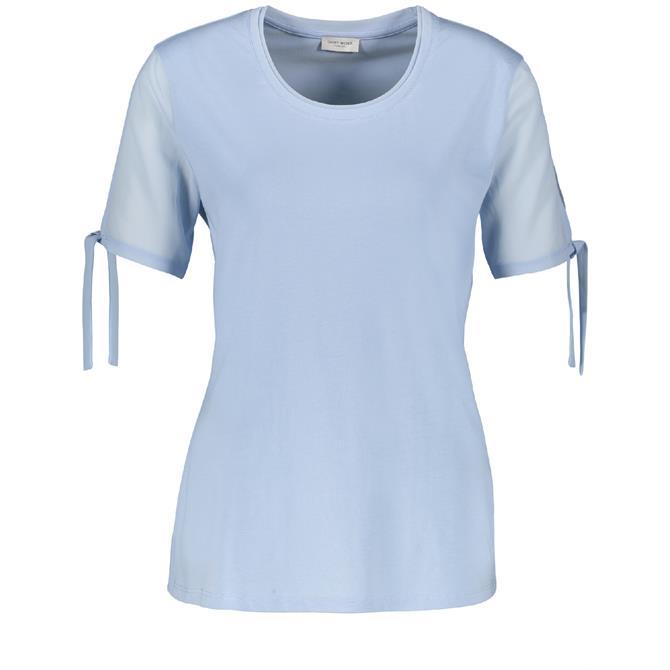 Gerry Weber Tie Detail Short Sleeve T Shirt