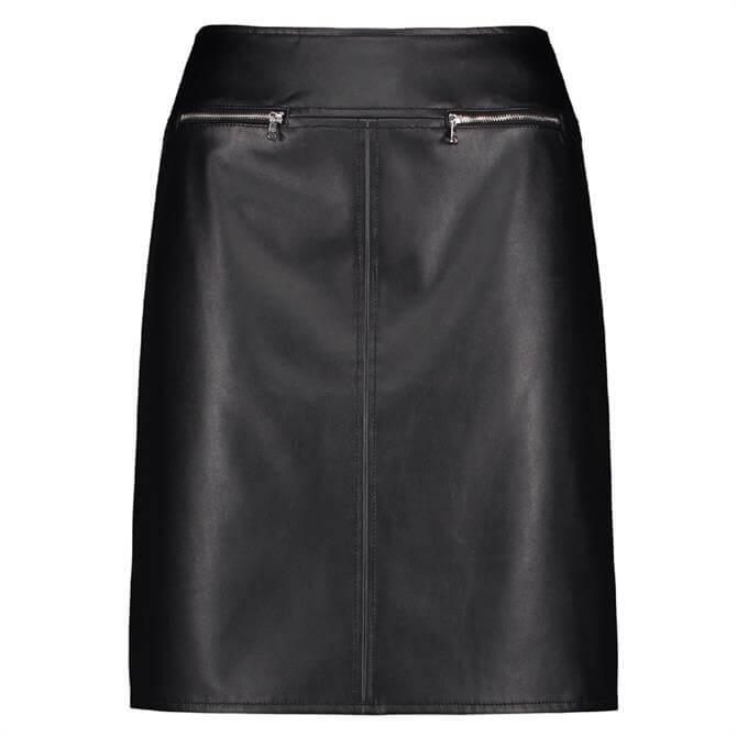 Gerry Weber Faux Leather Skirt