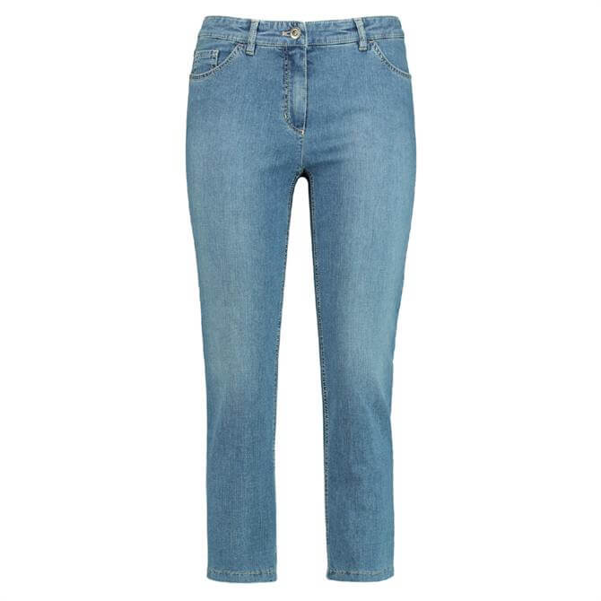 Gerry Weber Romy Straight Fit Cropped Jeans