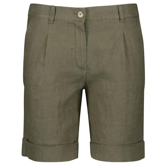 Gerry Weber Linen Turn-Up Shorts