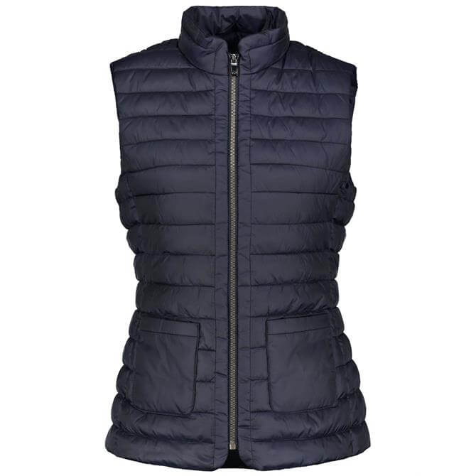 Gerry Weber Quilted Zip-Through Gilet