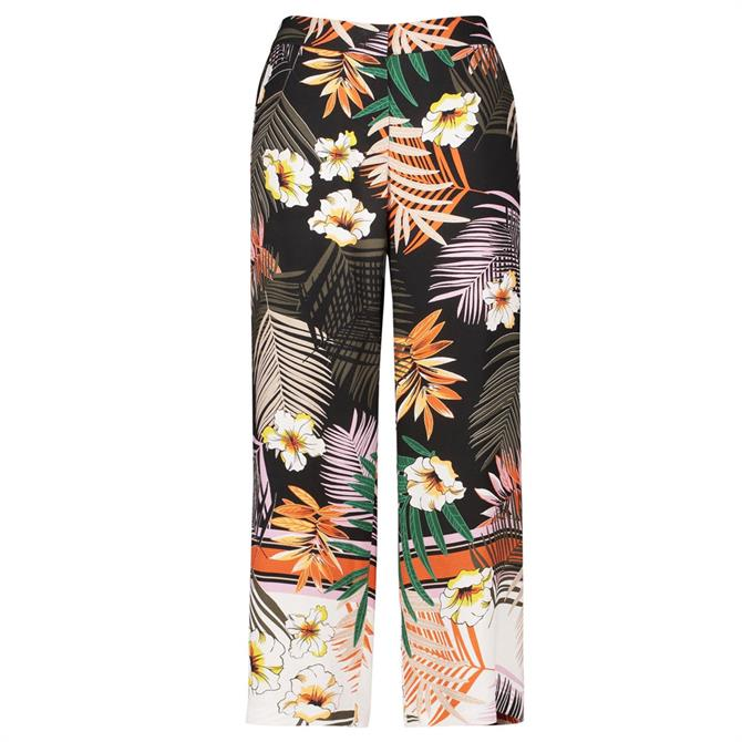 Gerry Weber Tropical Print Wide Leg Trousers