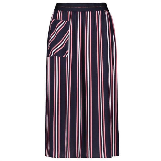 Gerry Weber Vertical Stripe Midi Skirt