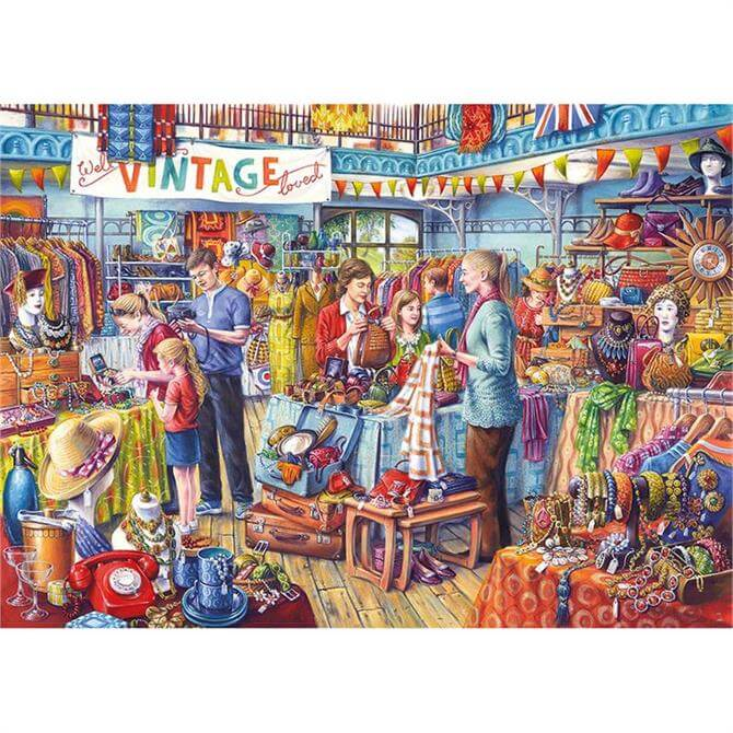 Gibsons Nearly New 1000 Piece Jigsaw Puzzle