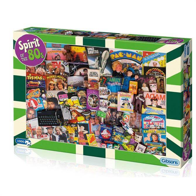 Gibsons Spirit Of The 80s Jigsaw Puzzle