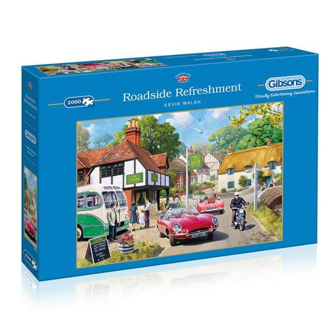 Gibsons Roadside Refreshment 2000 Piece Jigsaw Puzzle