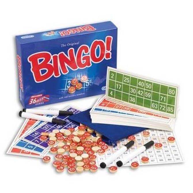 Gibsons Bingo Board Game
