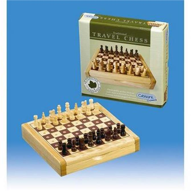 Gibsons Travel Chess Set