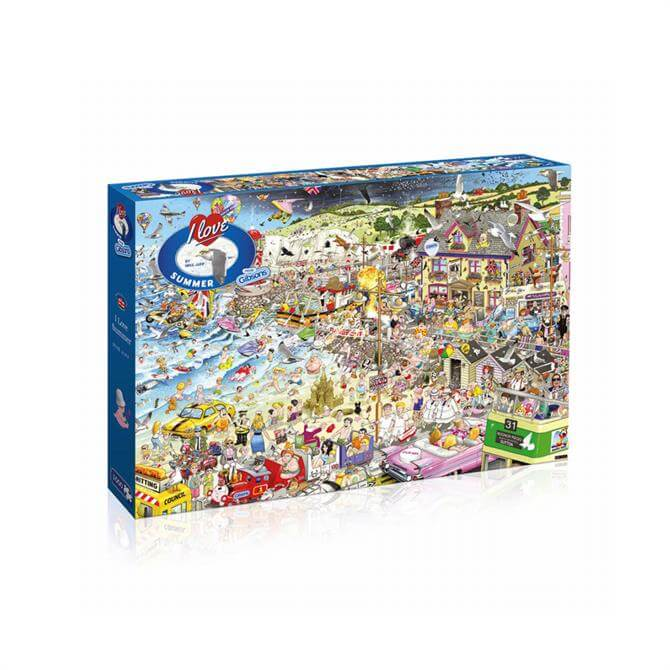 Gibsons I Love Summer 1000 Piece Puzzle