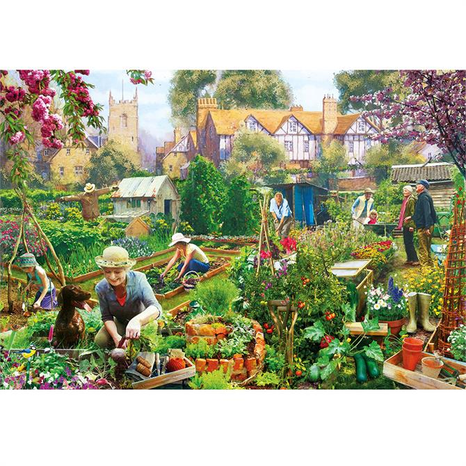 Gibsons Green Fingers 500 Piece Jigsaw Puzzle
