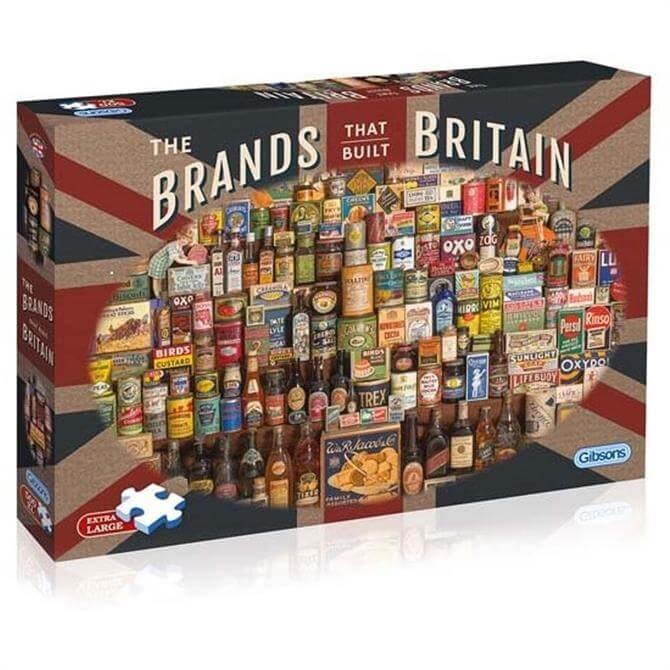 Gibsons The Brands That Built Britain 500 Piece Jigsaw Puzzle