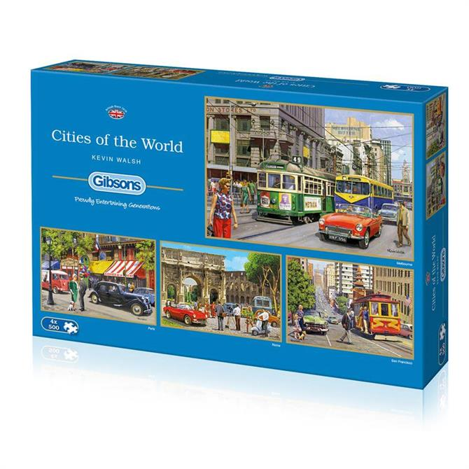 Gibsons G5044 Cities of the World Jigsaw Puzzle