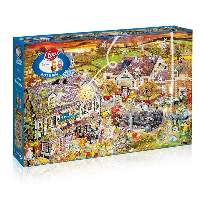 Gibsons G7084 I Love Autumn Jigsaw Puzzle