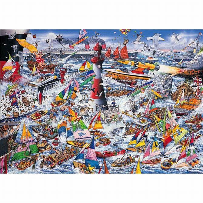 Gibsons G591 I Love Boats Jigsaw Puzzle