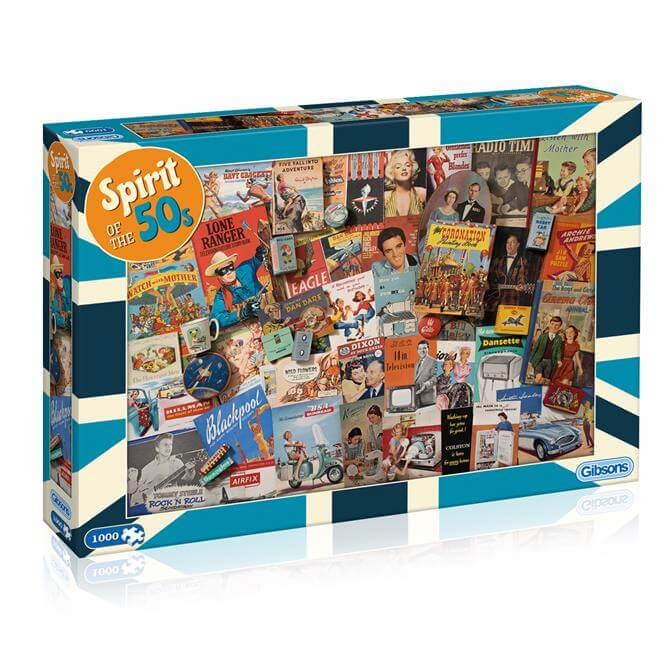 Gibsons G7081 Spirit of the 50s Jigsaw Puzzle