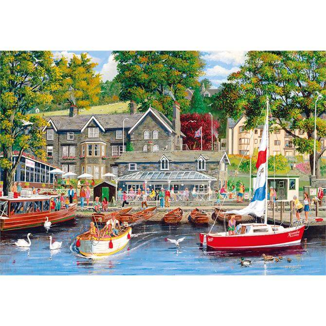 Gibsons Summer in Ambleside Jigsaw Puzzle G6208