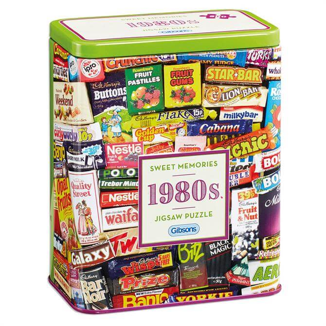 Gibsons 1980s Sweet Tin Jigsaw Puzzle