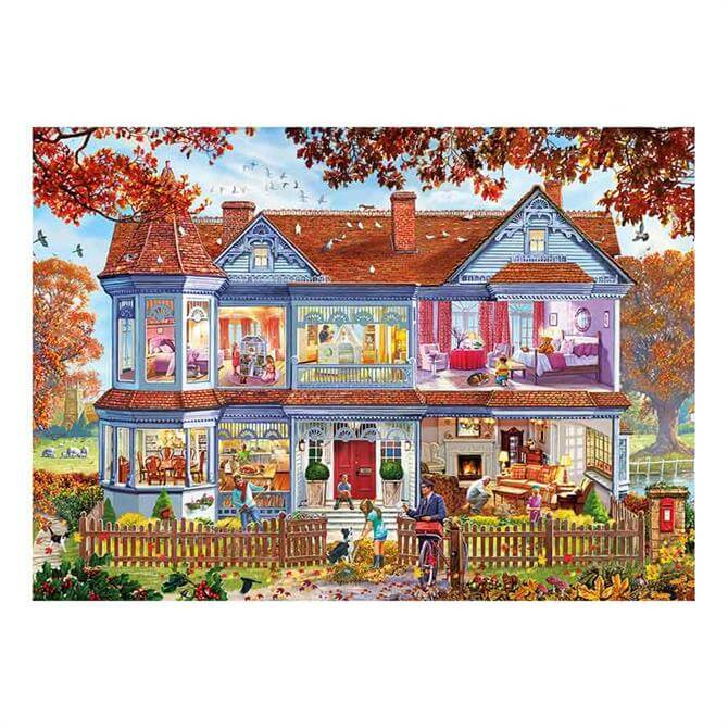 Gibsons Autumn Home 1,000-Piece Puzzle